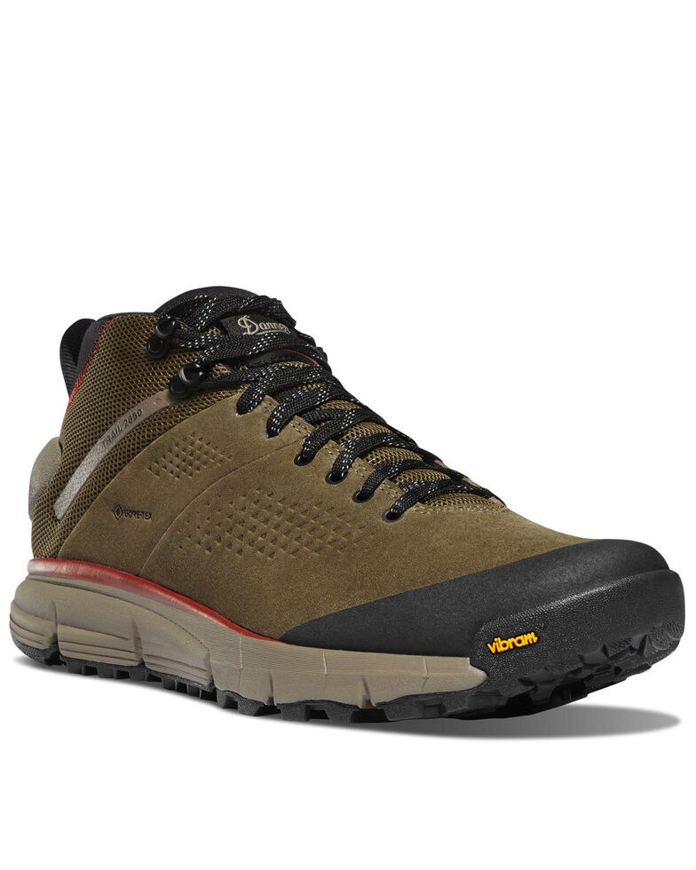 Danner Men's Trail 2650 GTX Dusty Olive Hiking Boots - Soft Toe, Olive, hi-res