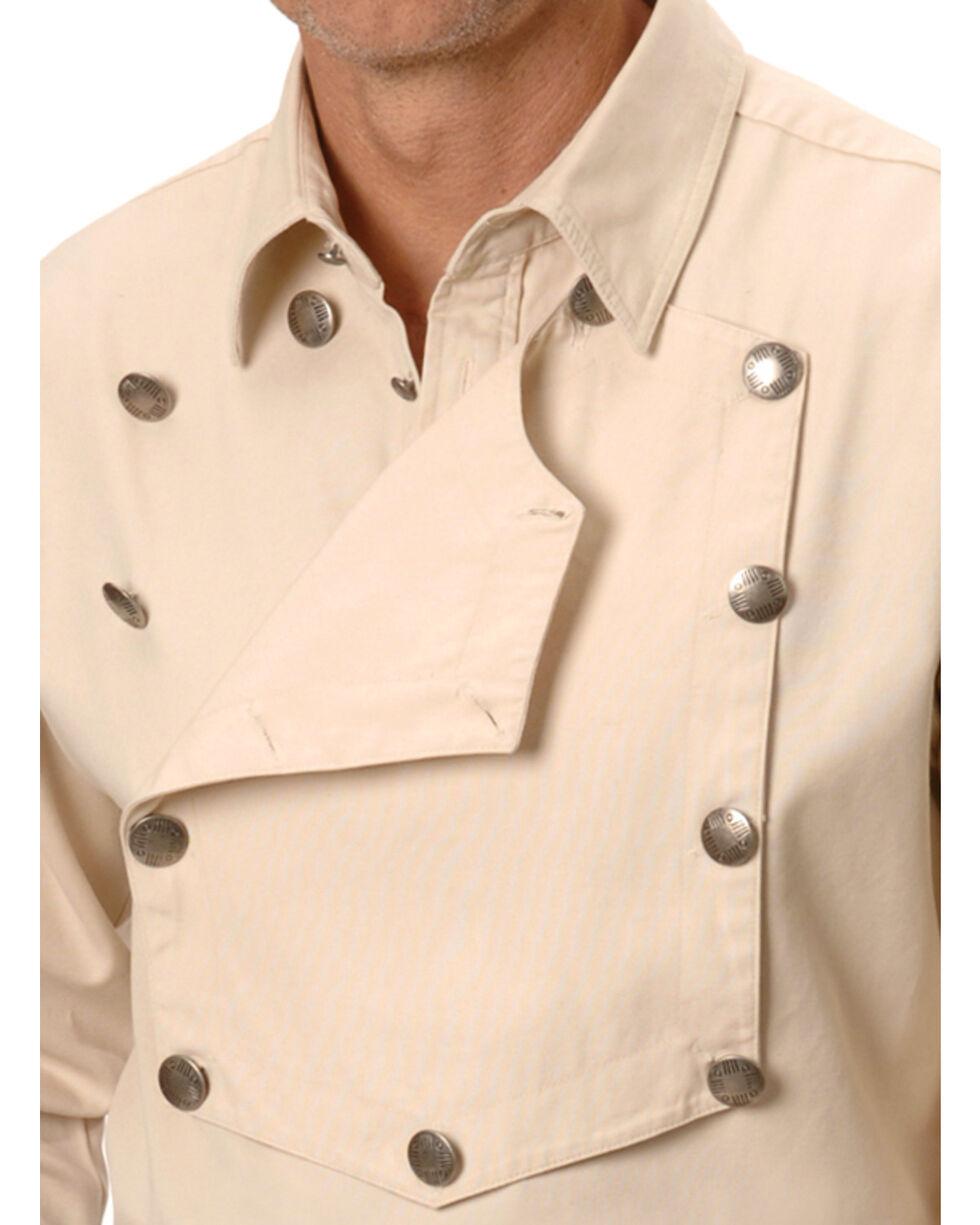 Scully Men's Range Wear Bib Shirt, Natural, hi-res