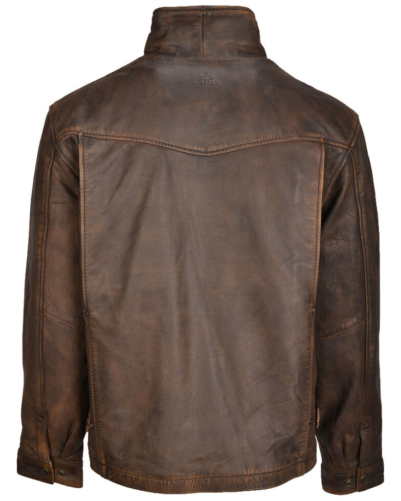 STS Ranchwear Women's Tobacco Brown Rifleman Leather Jacket, Brown, hi-res