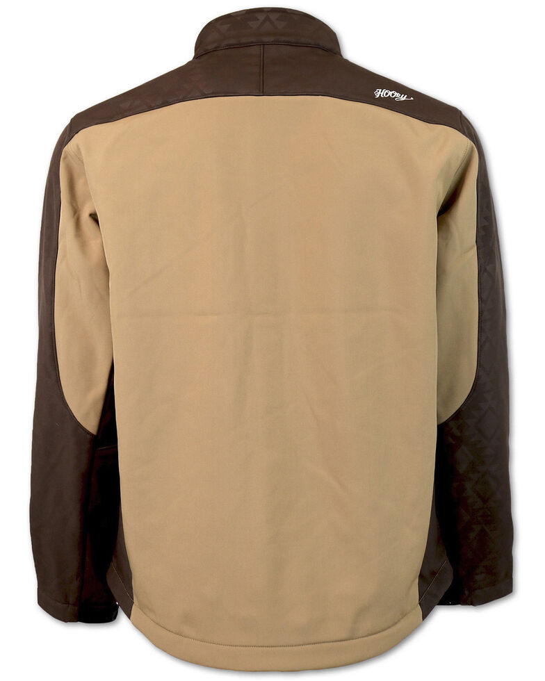 HOOey Boys' Color-Block Soft-Shell Jacket , Tan, hi-res