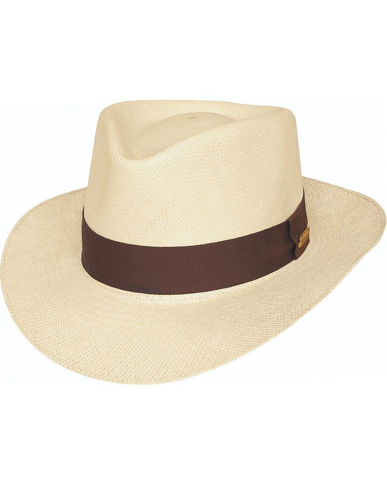 Bullhide Men's Traveler Straw Hat, Natural, hi-res