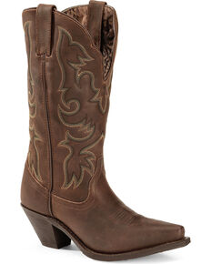 Laredo Women's Access Western Boots, Tan, hi-res