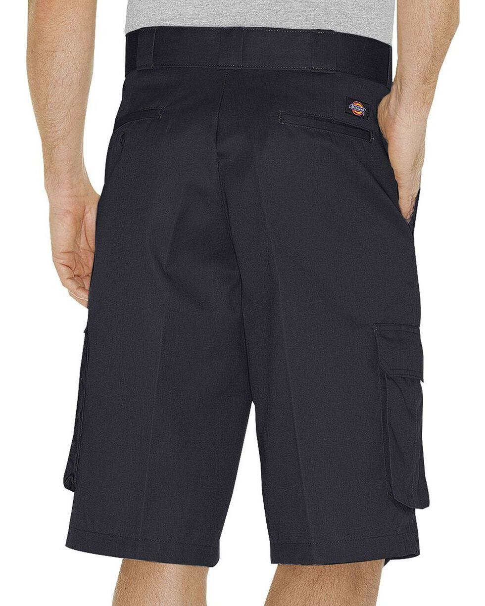 Dickies Twill Cargo Shorts - Tall, Black, hi-res