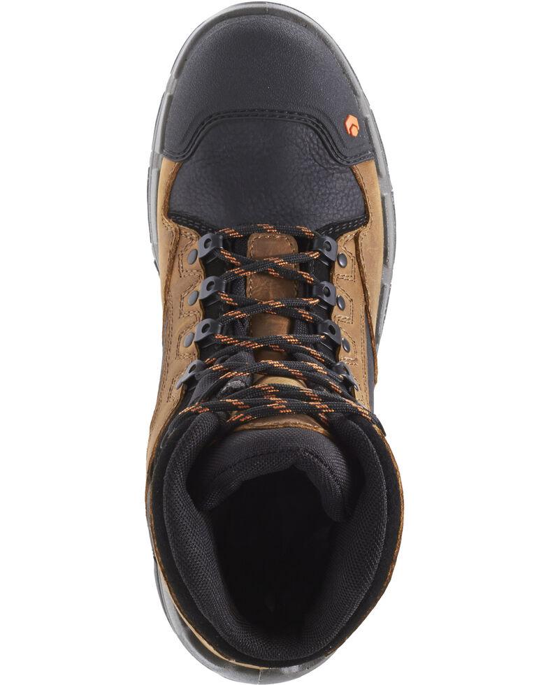 "Wolverine Men's Legend Durashocks 6"" Work Boots - Composite Toe, Tan, hi-res"
