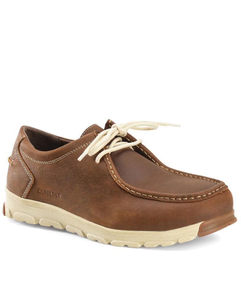 Carolina Men's S-117 ESD Work Shoes - Aluminum Toe, Mahogany, hi-res