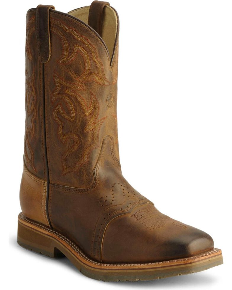 8646277bb0b Double-H Men's Steel Square Toe Western Boots