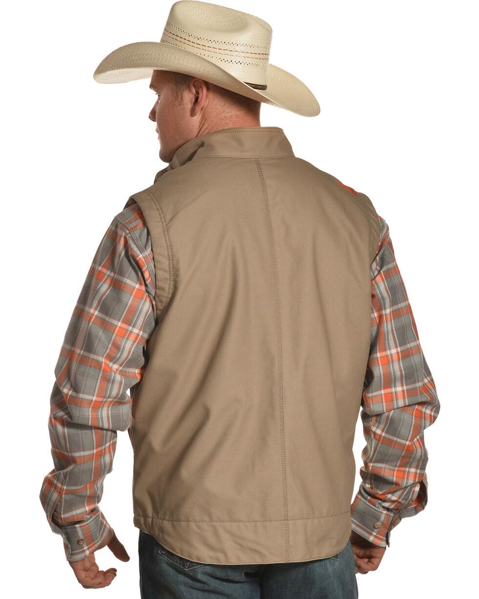 Ariat Men's Workhorse Vest, Beige/khaki, hi-res