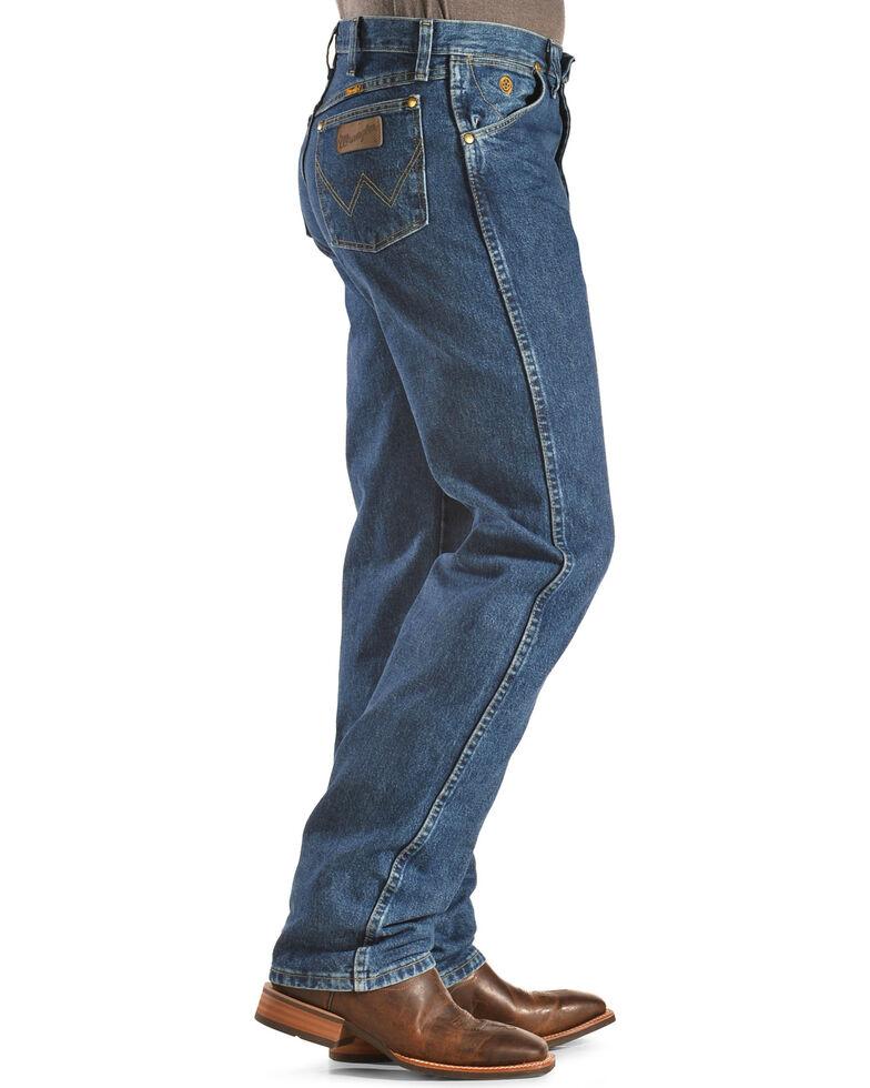 e5cffb70 Zoomed Image George Strait by Wrangler Men's Cowboy Cut Western Jeans,  Denim, hi-res