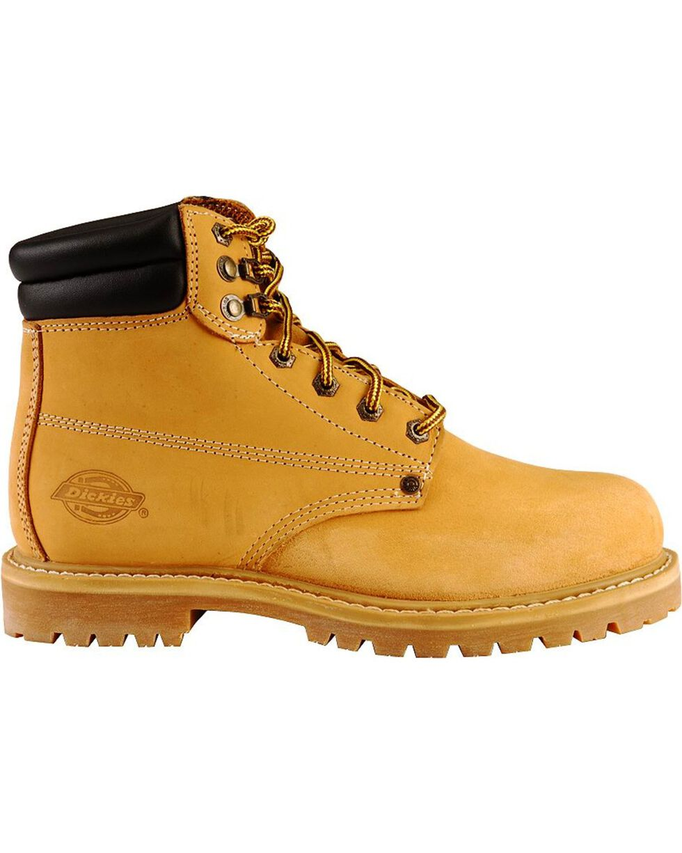 "Dickies Men's Raider 6"" Lace-Up Work Boots - Steel Toe, Wheat, hi-res"