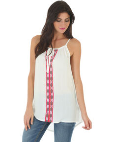 a6ff75c880f509 Wrangler Women s Braided Front Sleeveless Top