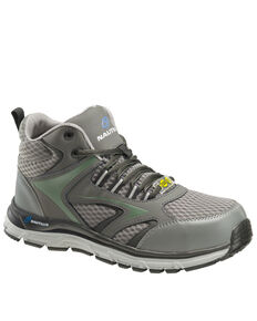 Nautilus Men's Grey Tempest Work Boots - Alloy Toe, Grey, hi-res