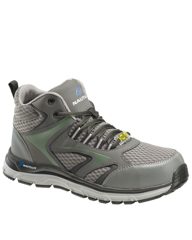 Nautilus Men's Grey Tempest Work Boots - Alloy Toe, Grey, hi-res
