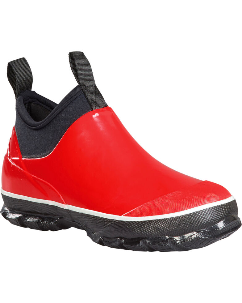 Baffin Women's Marsh Mid Waterproof Boots - Round Toe, Red, hi-res