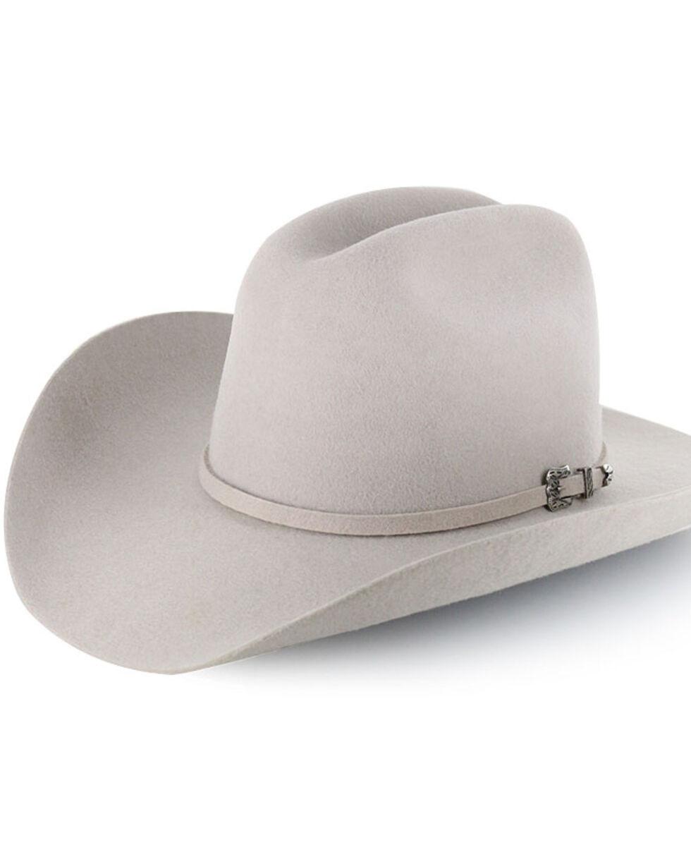 """SILVER BELLY ~3X Wool Blend Felt HAT~ 4/"""" Brim RODEO Cowboy Western Strait Grey"""