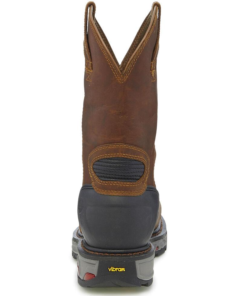 9ca9d28ffa3 Justin Men's Chestnut Warhawk Waterproof Work Boots - Composite Toe