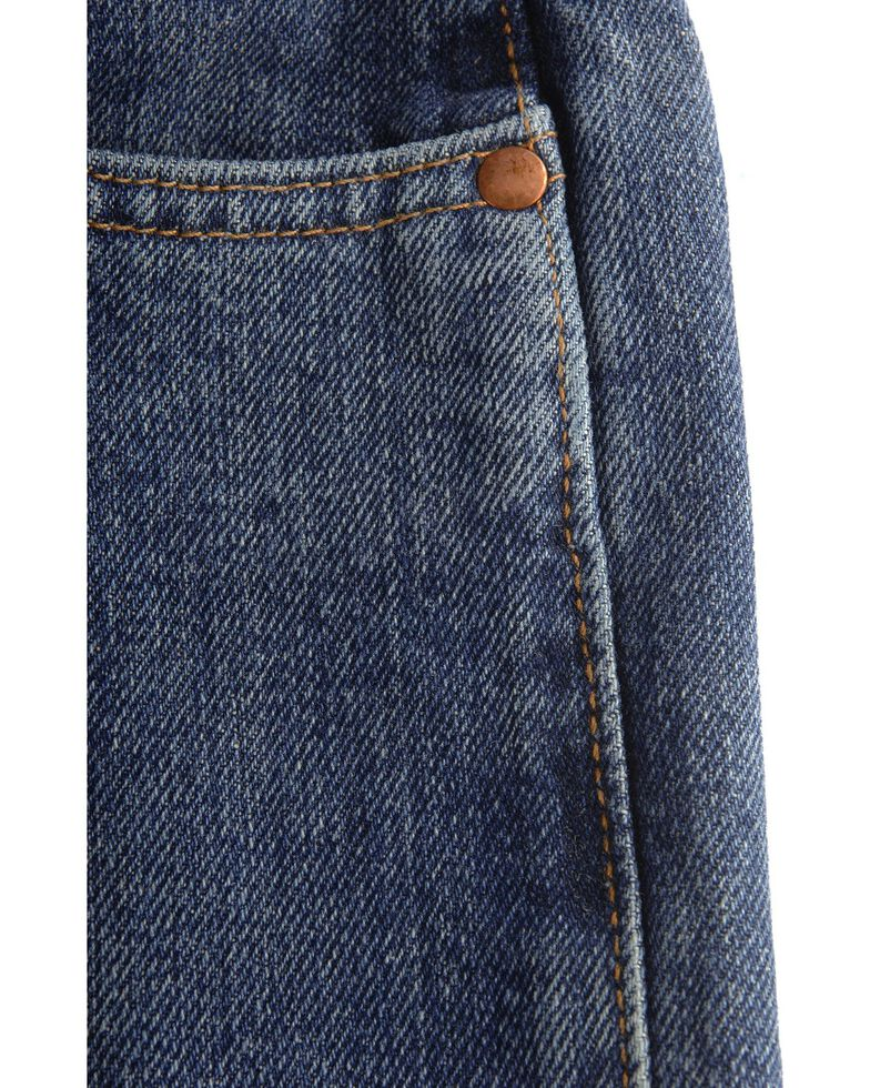 Wrangler Girls' Cash Ultimate Riding Jeans 7-14, Am Spirit, hi-res
