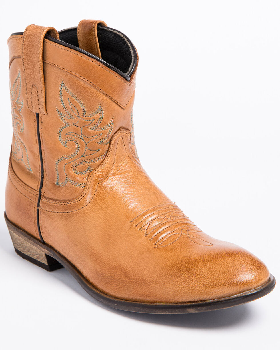 "Dingo Women's 6"" Willie Western Fashion Boots, Tan, hi-res"