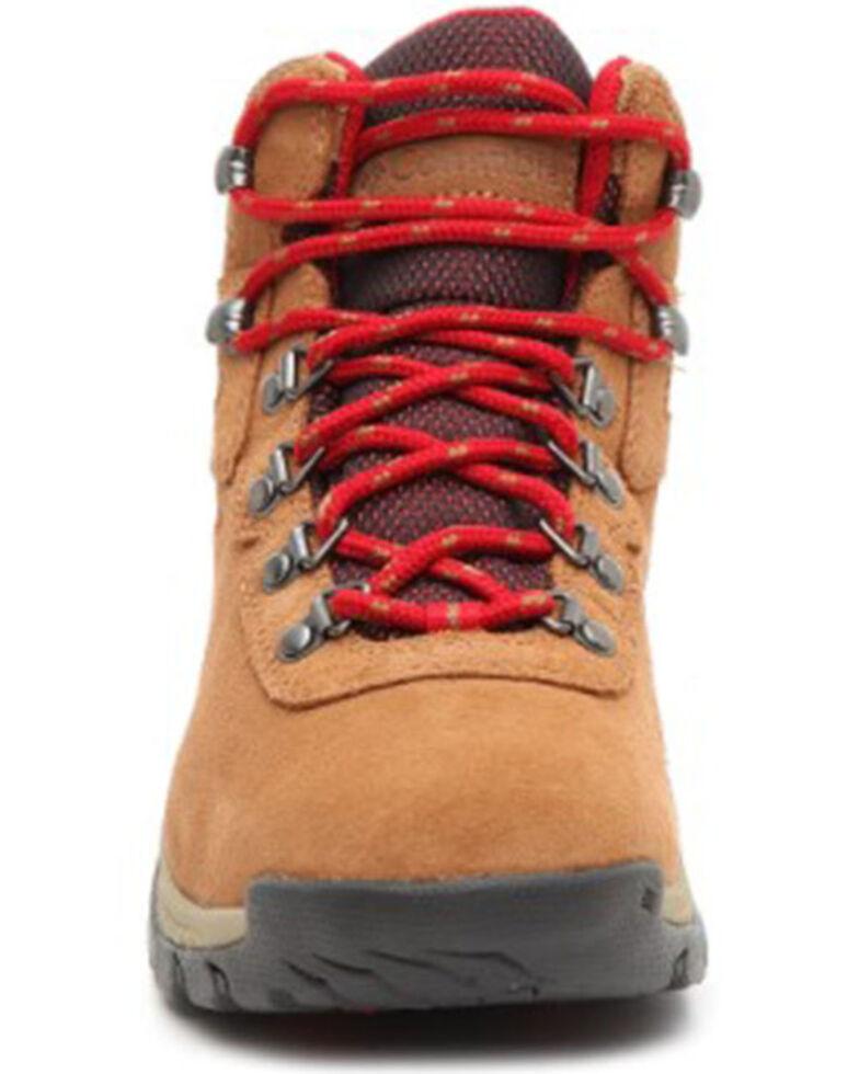 Columbia Women's Newton Ridge Plus Amped Waterproof Hiking Boot , Brown, hi-res