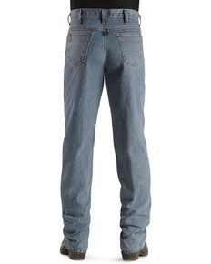 Cinch Men's Green Label Original Fit Stonewash Jeans, Midstone, hi-res