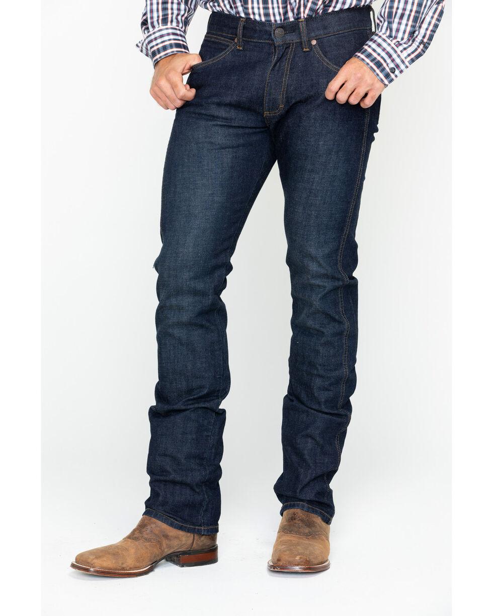 Wrangler Retro Men's Bezar Slim Seat Skinny Jeans , Blue, hi-res