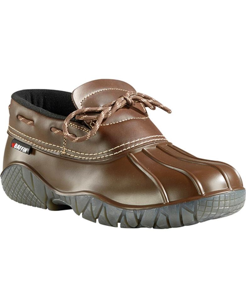 Baffin Men's Great Lake Series Ontario Waterproof Boots - Round Toe, Brown, hi-res