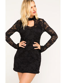 Idyllwind Women's Up All Night Mini Dress, Black, hi-res