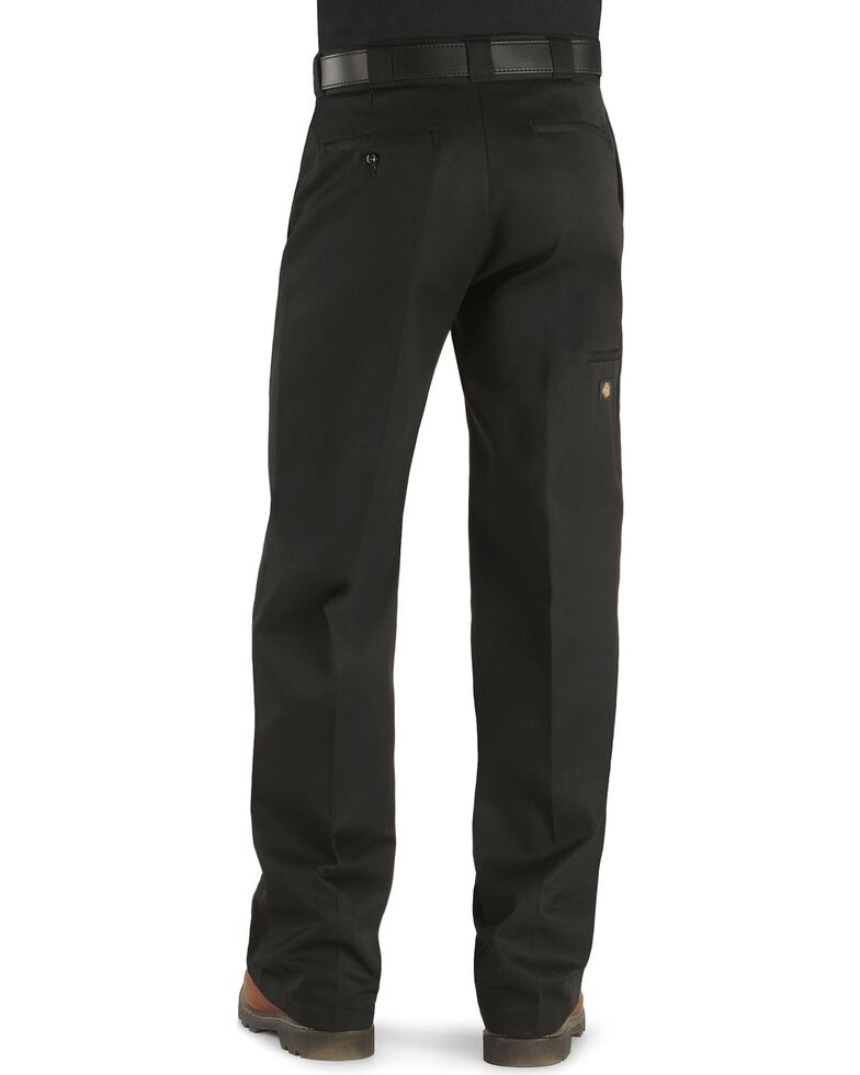 Dickies  Loose Fit Double Knee Work Pants - Big & Tall, Black, hi-res