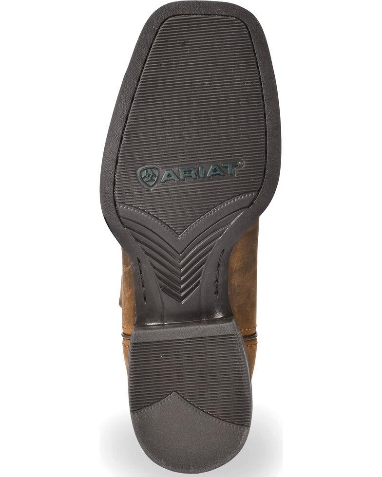 Ariat Men's Distressed Brown Sage Camo Sport Patriot Western Boots - Wide Square Toe , Brown, hi-res