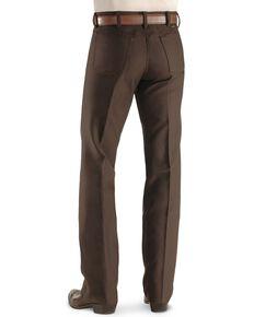 Wrangler Wrancher Dress Jeans - Big, Brown, hi-res
