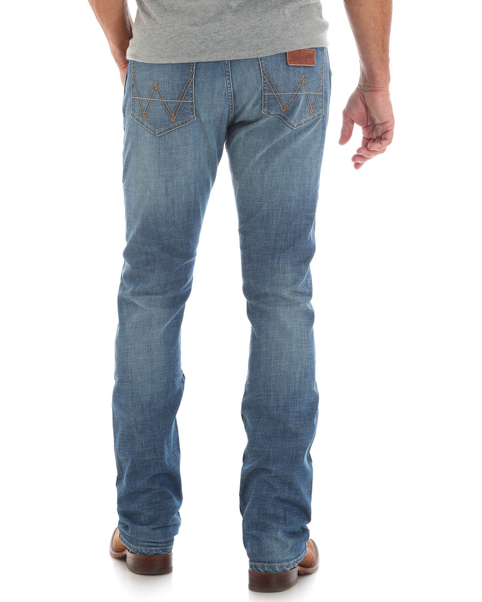 Wrangler Retro Men's Pinesdale Slim Jeans - Straight, Blue, hi-res