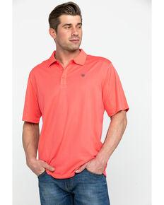 b30bd1bd Ariat Men's Coral TEK Short Sleeve Polo Shirt
