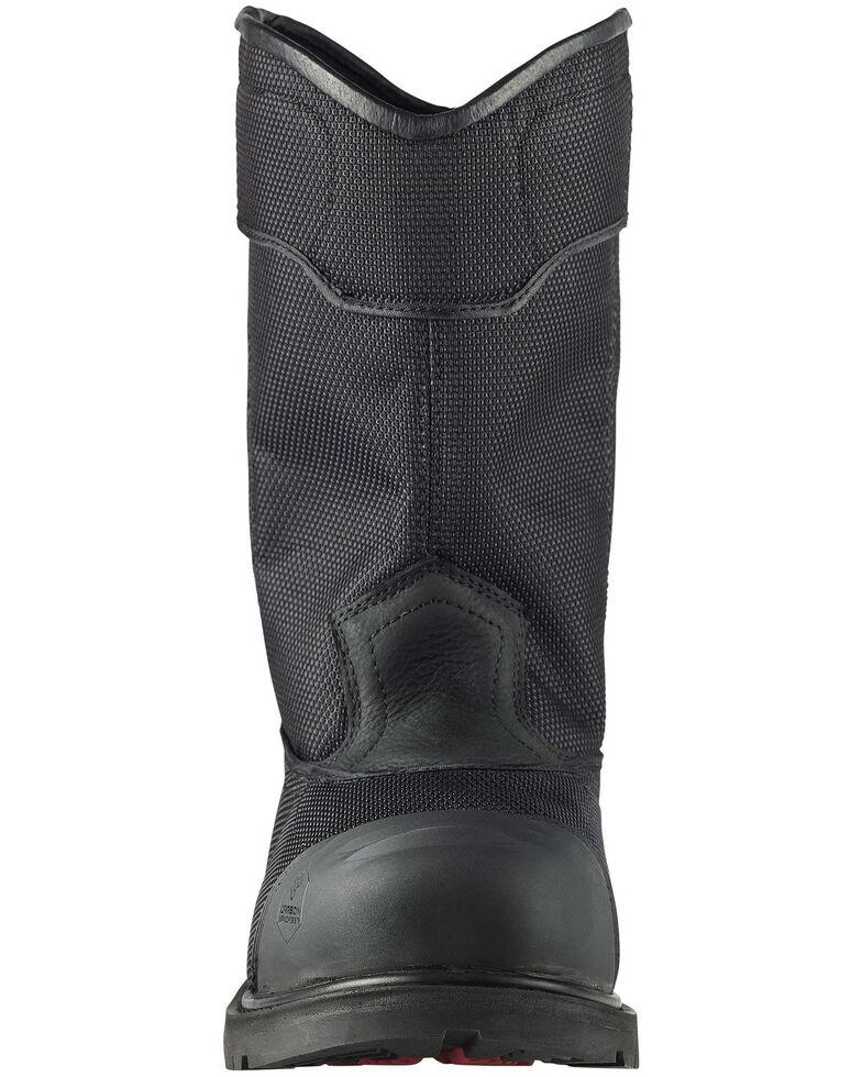 Avenger Men's Hammer Waterproof Western Work Boots - Carbon Toe, Black, hi-res
