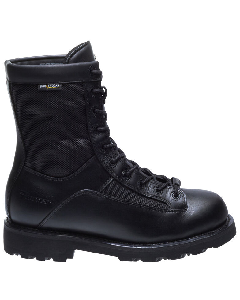 Bates Men's Waterproof Durashocks Work Boots - Soft Toe, Black, hi-res