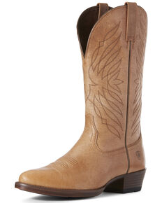 Ariat Men's Uptown Western Boots - Round Toe, Heather Grey, hi-res