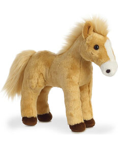 Aurora Cheyenne Plush Pony, Tan, hi-res