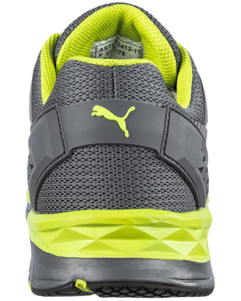 Puma Men's Fuse Motion Work Shoes - Composite Toe, Grey, hi-res