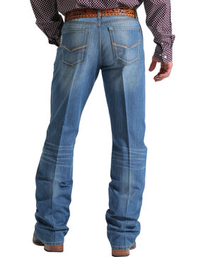Cinch Men's Relaxed Fit Boot Cut Jeans, Indigo, hi-res