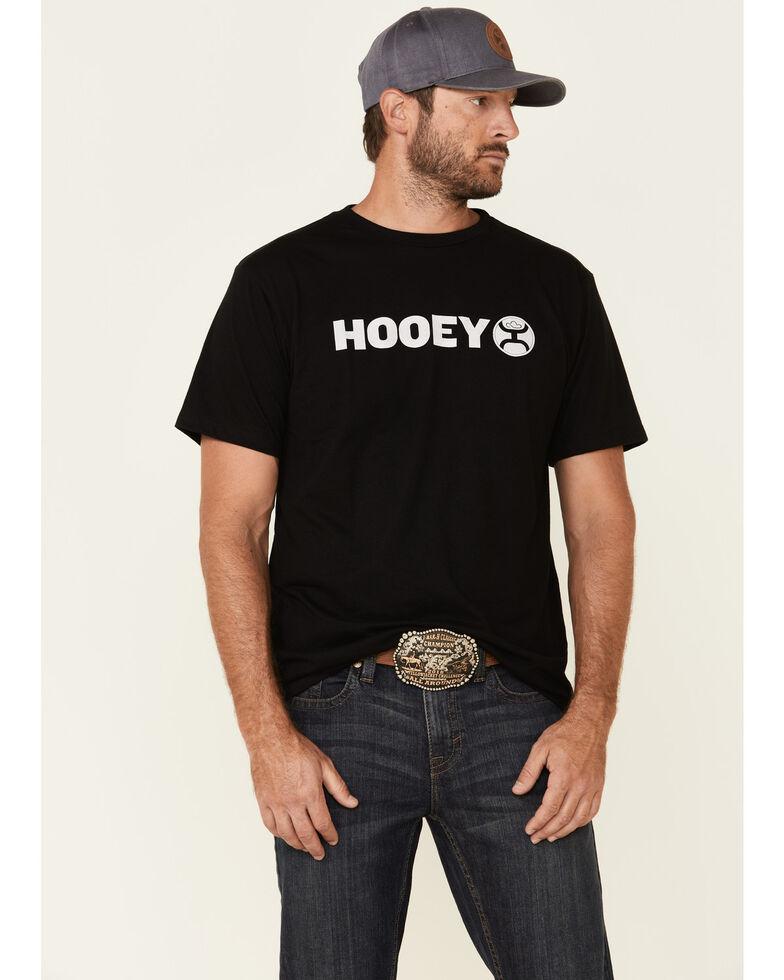 HOOey Men's Black Lock-Up Graphic T-Shirt , Black, hi-res
