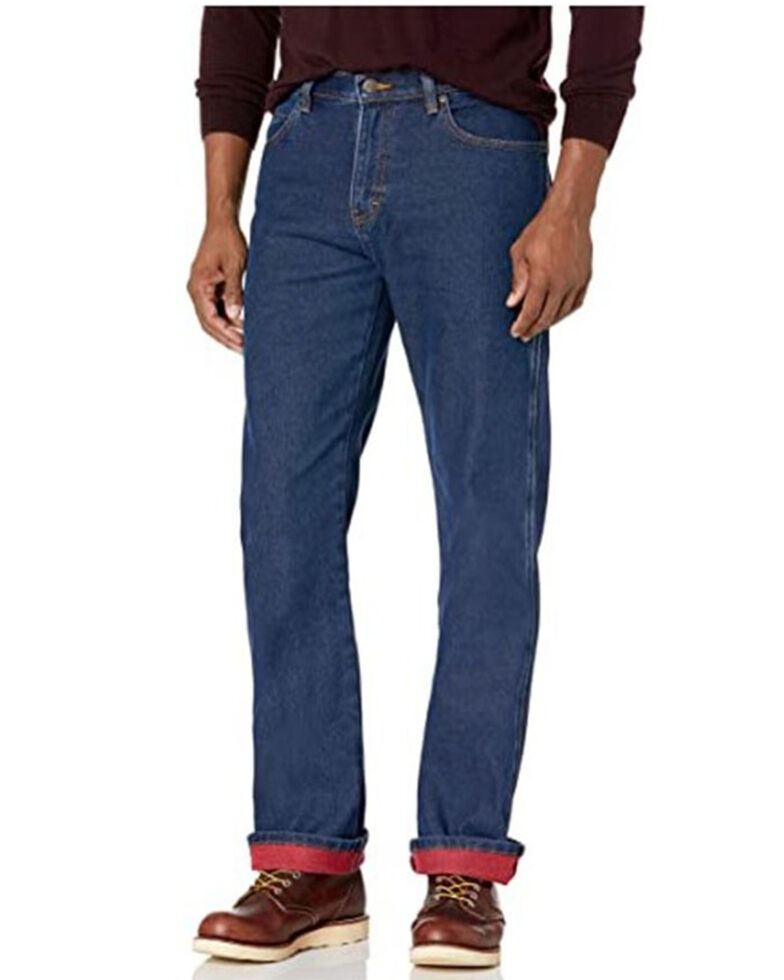 Dickies Men's Stonewash Warming Temp-IQ Flex Regular Fit Work Jeans , Indigo, hi-res
