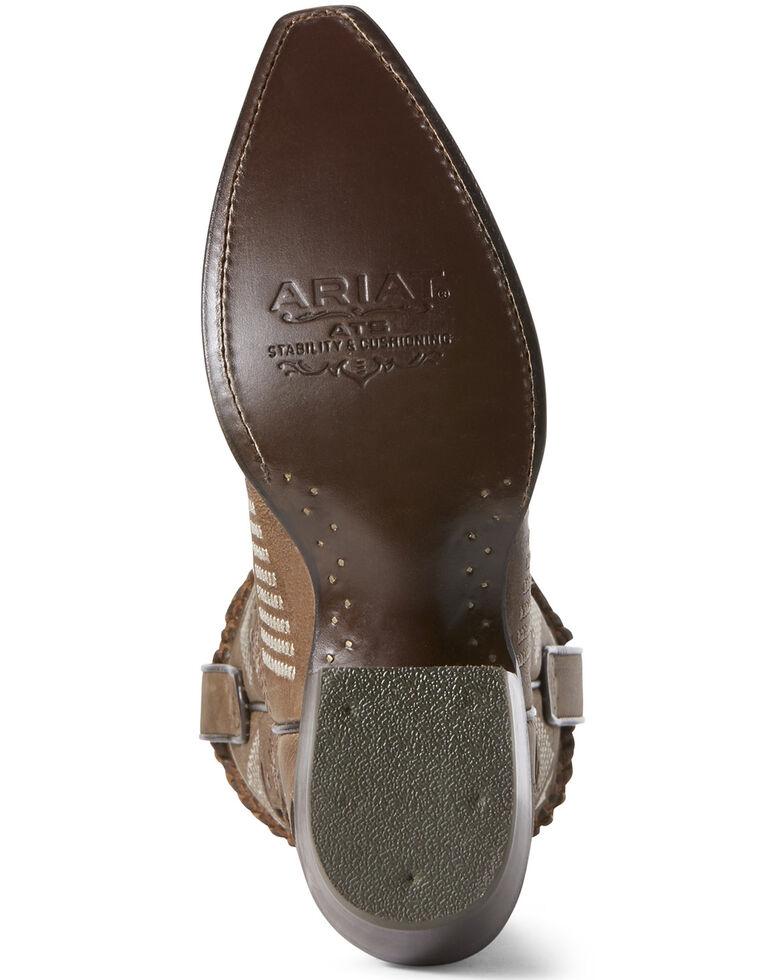 Ariat Women's Camilla Shitake Western Boots - Snip Toe, Grey, hi-res