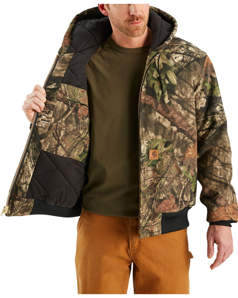 224190ed Zoomed Image Carhartt Quilted-Flannel-Lined Active Jacket - Big & Tall,  Multi, hi