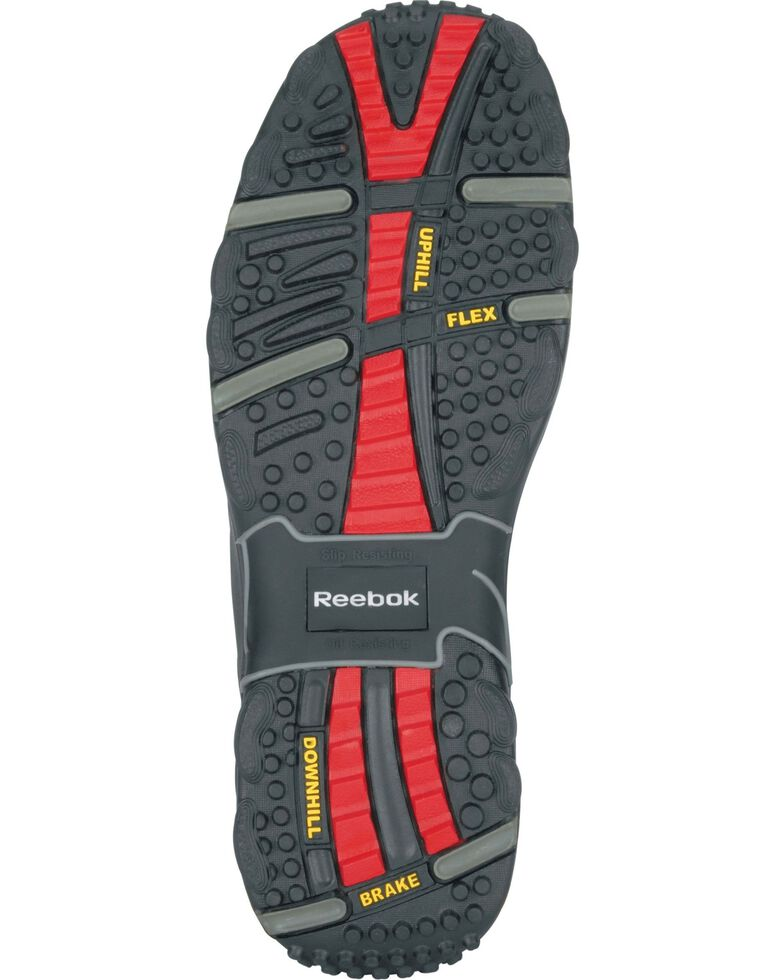 Reebok Men's Tiahawk Sport Hiker Waterproof Work Boots - Composite Toe, Black, hi-res