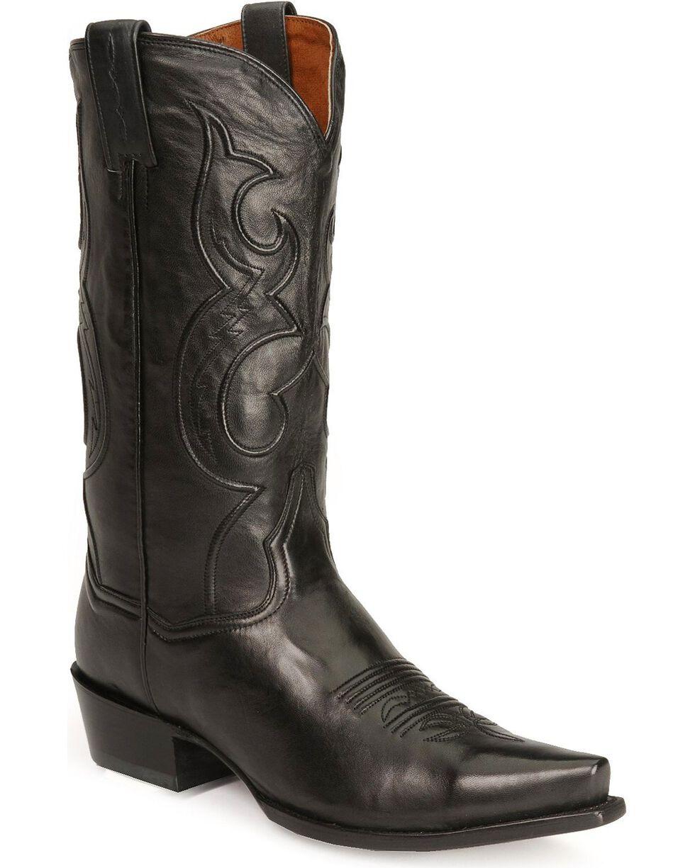 Dan Post Men's Bexar Western Boots, Black, hi-res