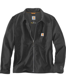 Carhartt Men's Black Full Swing Briscoe Work Jacket, Black, hi-res