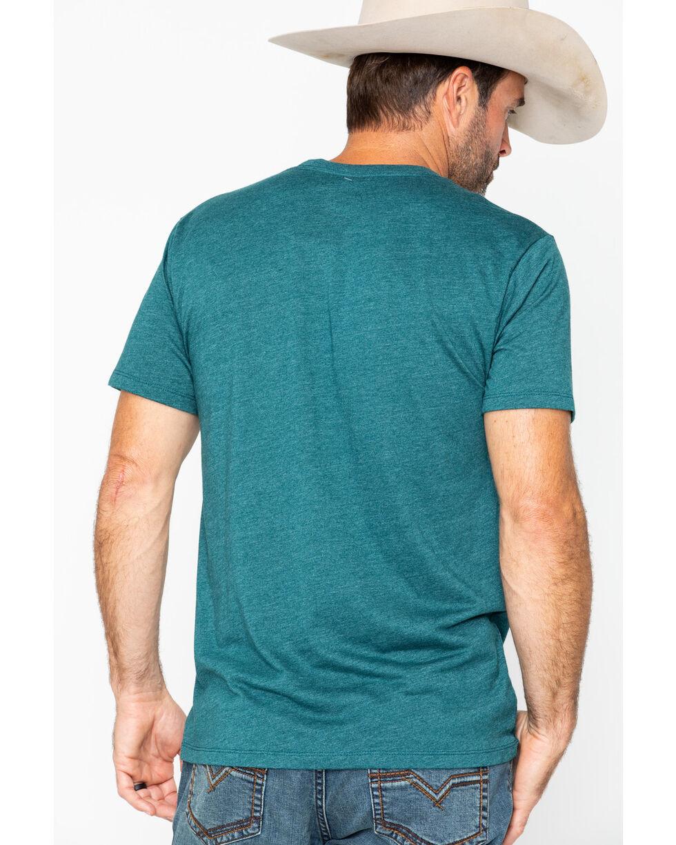 Moonshine Spirit Men's Trademark Logo T-Shirt, Teal, hi-res
