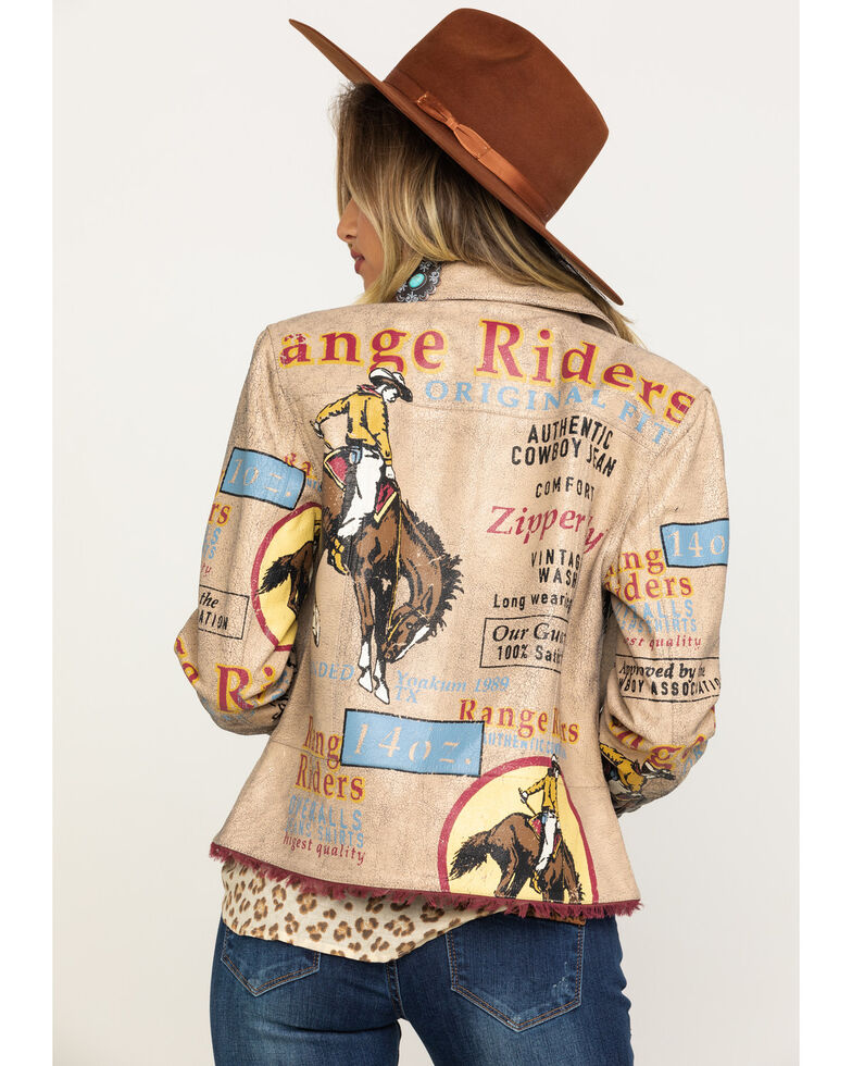 Double D Ranch Women's Elk Horn Range Rider Jacket , Multi, hi-res