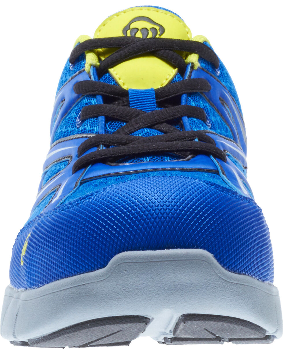 Wolverine Men's Jetstream Work Shoes - Composite Toe, Blue, hi-res