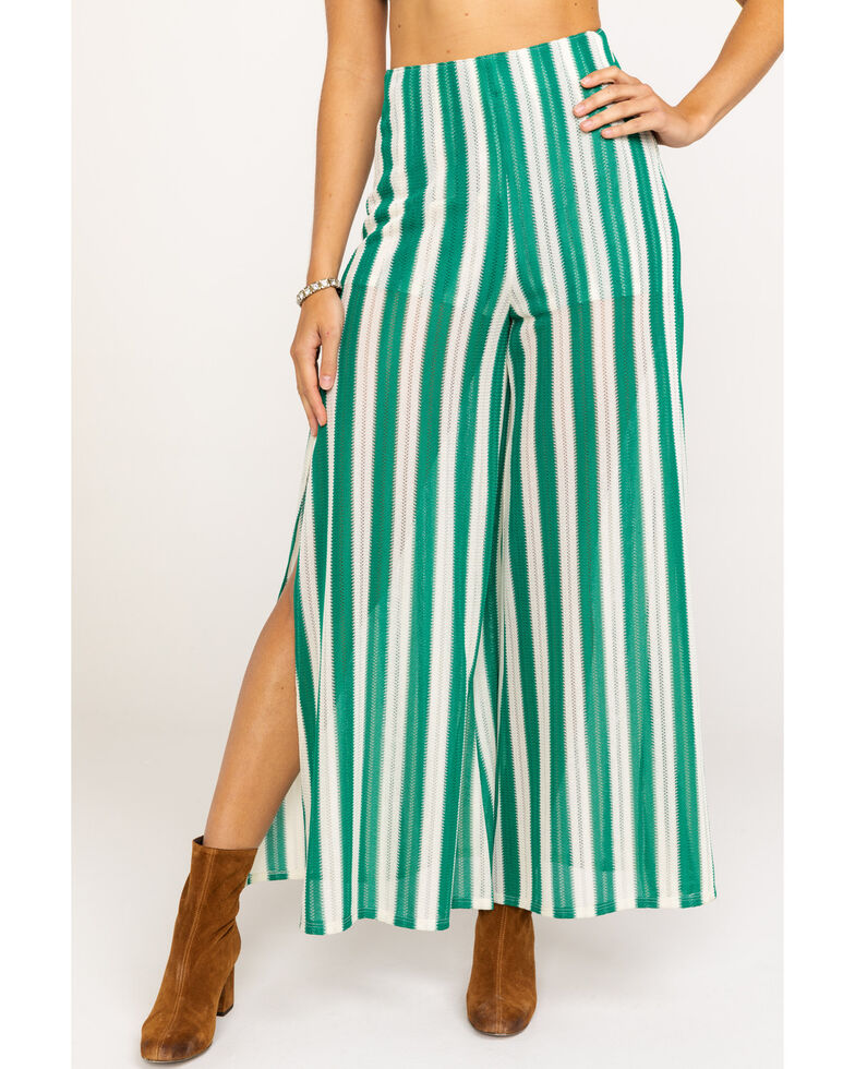 Show Me Your Mumu Women's Court Pants, Green, hi-res