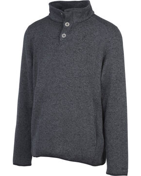 Browning Men's Black Gilson Sweater Pullover, Black, hi-res
