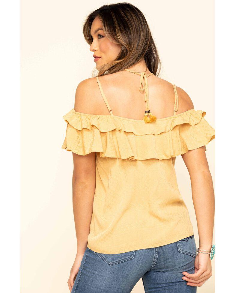 Ariat Women's Mustard Tina Tank, Dark Yellow, hi-res